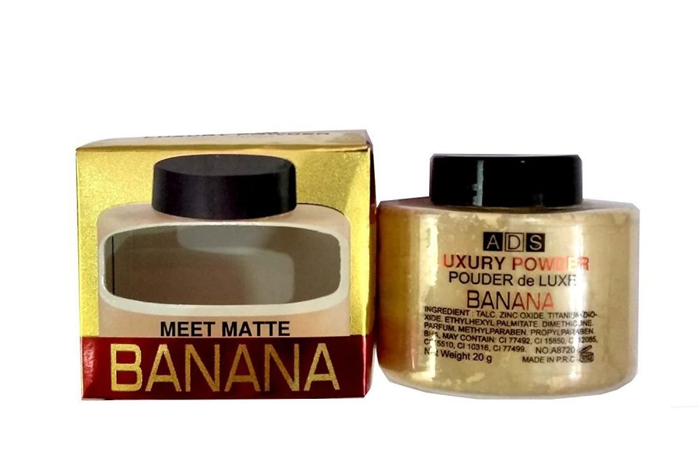 ADS Luxury meet matte banana powder