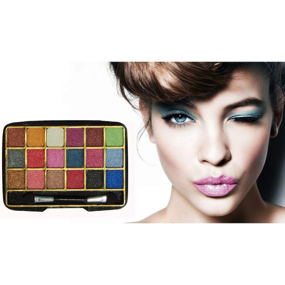 Miss Gold 18 color shimmer eyeshadow palette