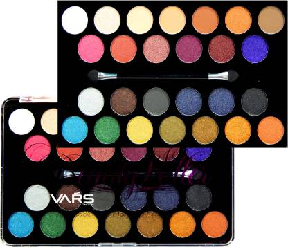 Vars london 26 color matte and shimmer combo eyeshadow palette