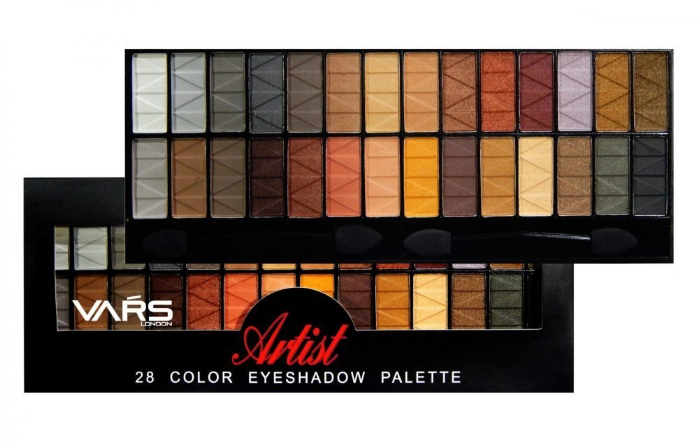 Vars london 28 color matte combo eyeshadow palette