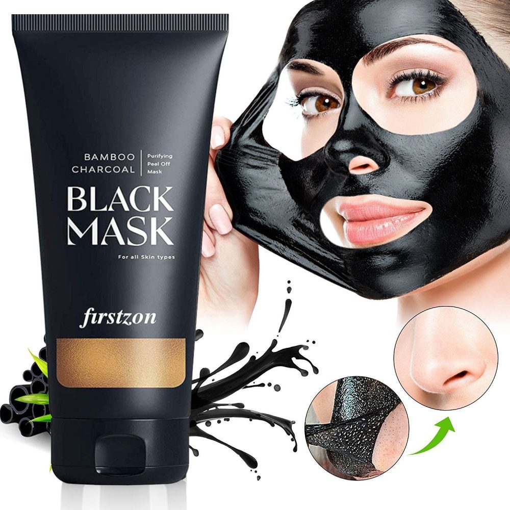 Firstzon charcoal peel off face mask deep cleansing 100g