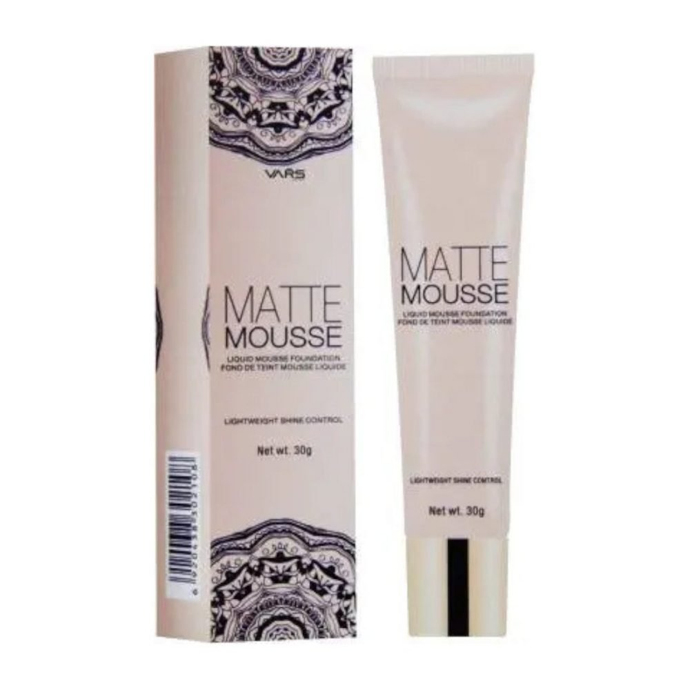 Vars London matte mousse cream foundation