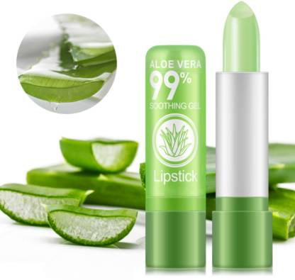 FIRSTZON Aloe Vera99% soothning gel color changing lipstick