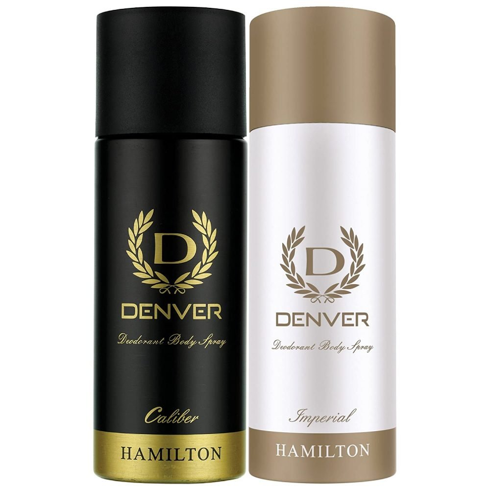 DANVER Deo combo calibre and imperial 165 ml(pack of 2)