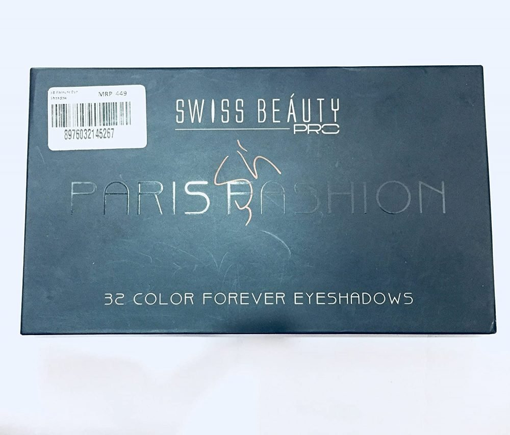 swiss Beauty pro 32 Color Forever eye shadow
