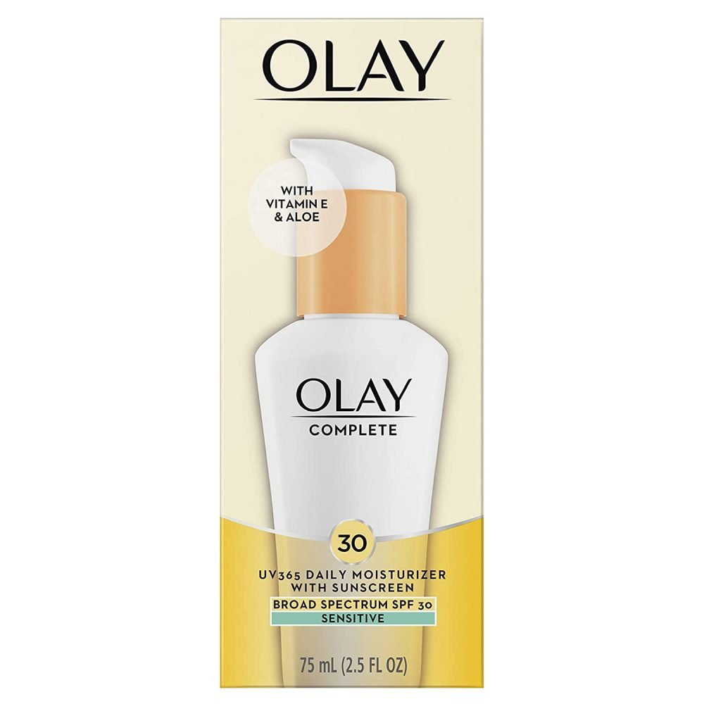 olay complete defense lotion sensitive SPF30, 118g