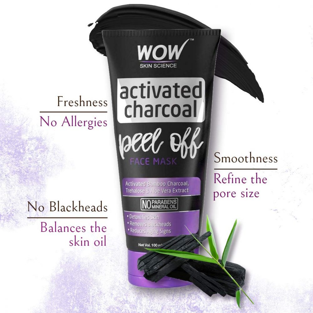 WOW Charcoal peel off mask