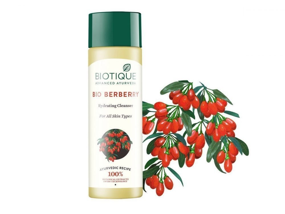 Biotique bio barberry hydrating cleanser for all skin types