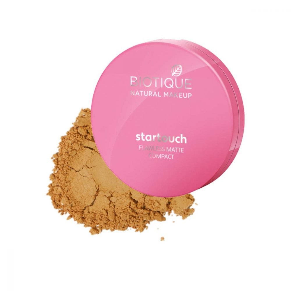Biotique Natural makeup star touch Flawless matte compact