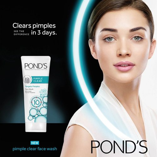 POND'S pimple clear face wash with active thymo-t essence , 100g ,