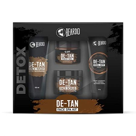 Beardo De-tan Face spa kit for men