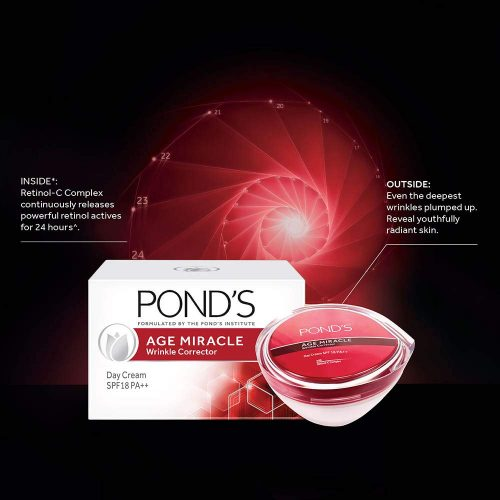POND'S age miracle wrinkle corrector SPF 18 PA++ day cream 50g