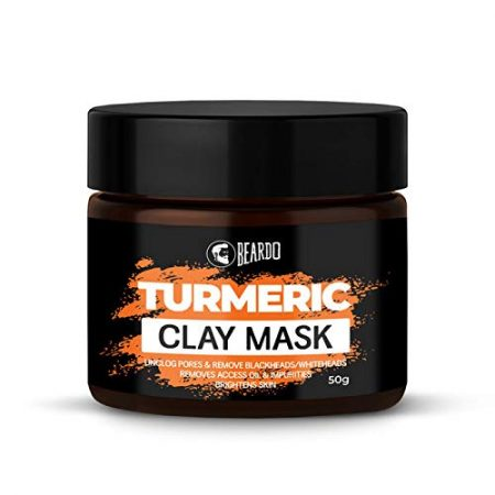 Beardo Turmeric clay mask for men 50g
