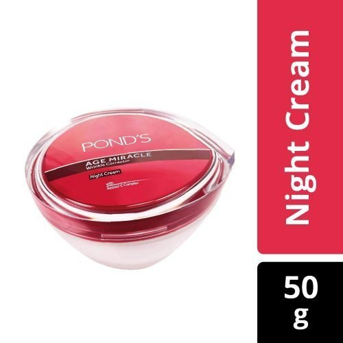 POND'S age miracle wrinkle corrector night cream, 50g , makes you feel up to 10 years * younger
