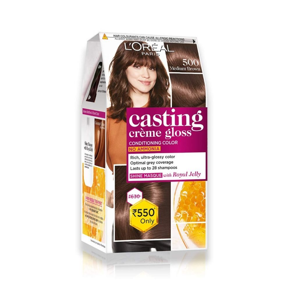 LOREAL Paris Casting Cream Gloss Hair Color Medium Brown