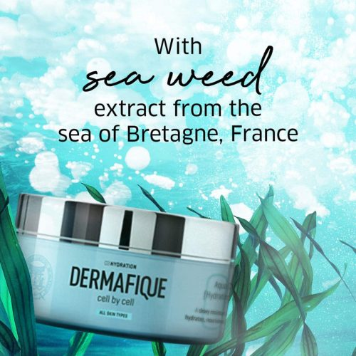 Dermafique aqua cloud hydrating creme for all skin types, Dermatologist tested, face and body cream (200g) , firstzon