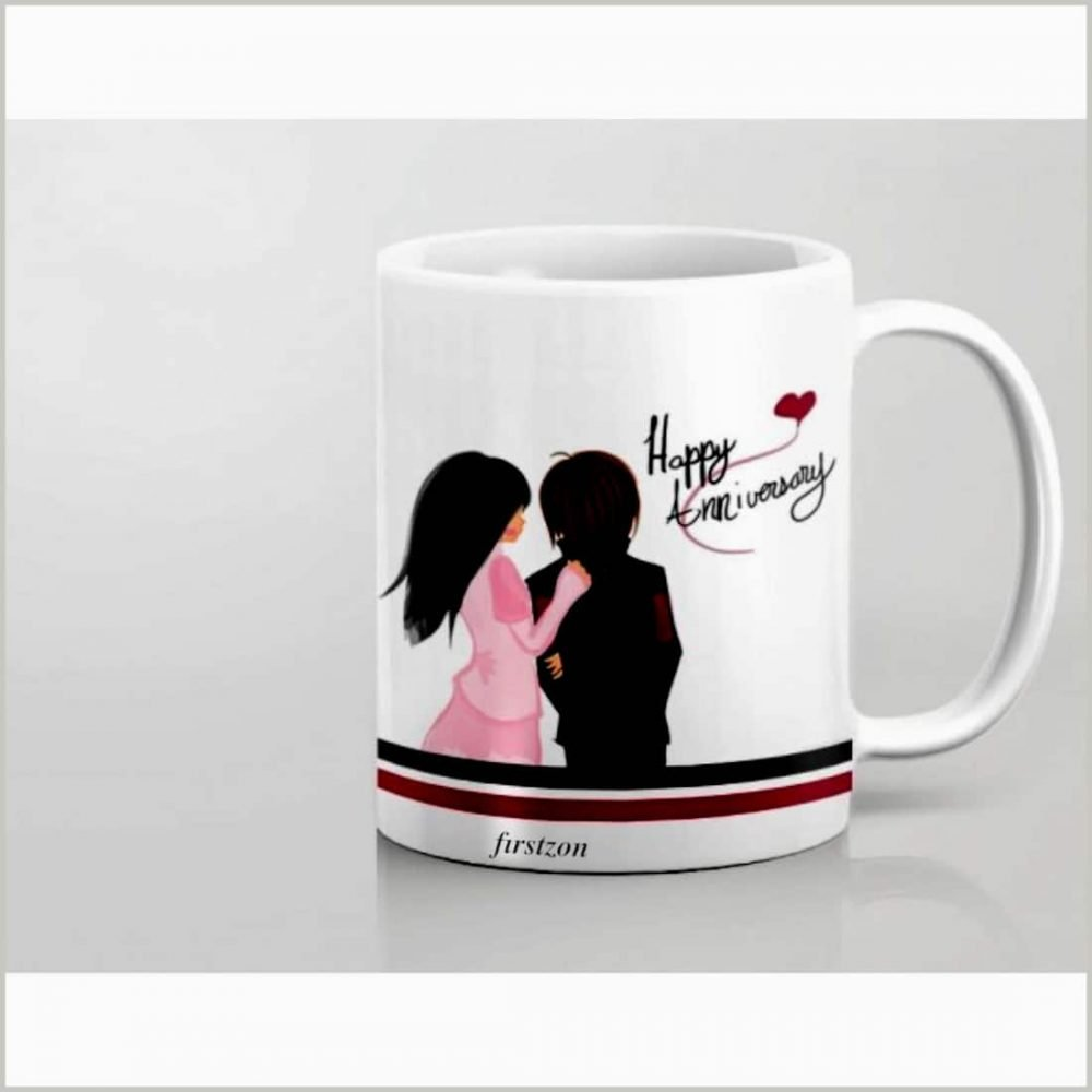 Personalized Special happy Anniversary white Mug