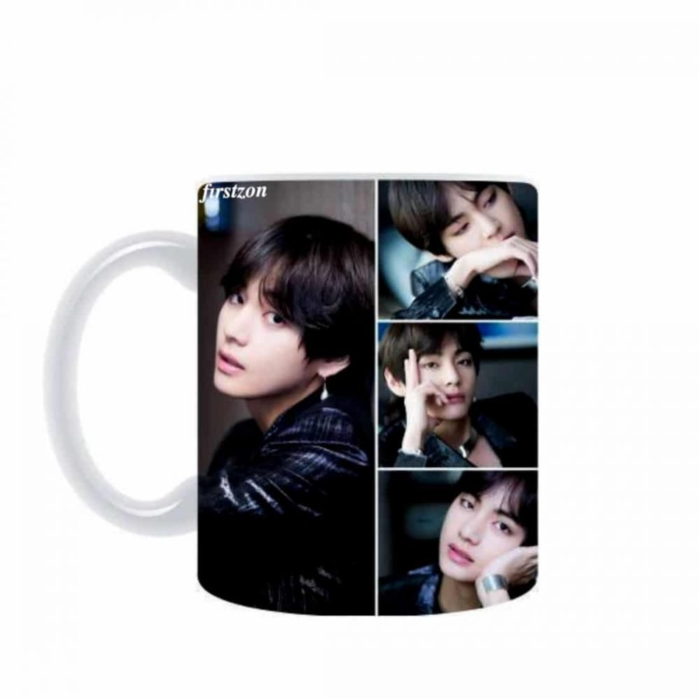 Personalized Special BTS signature creative design printed white Mug