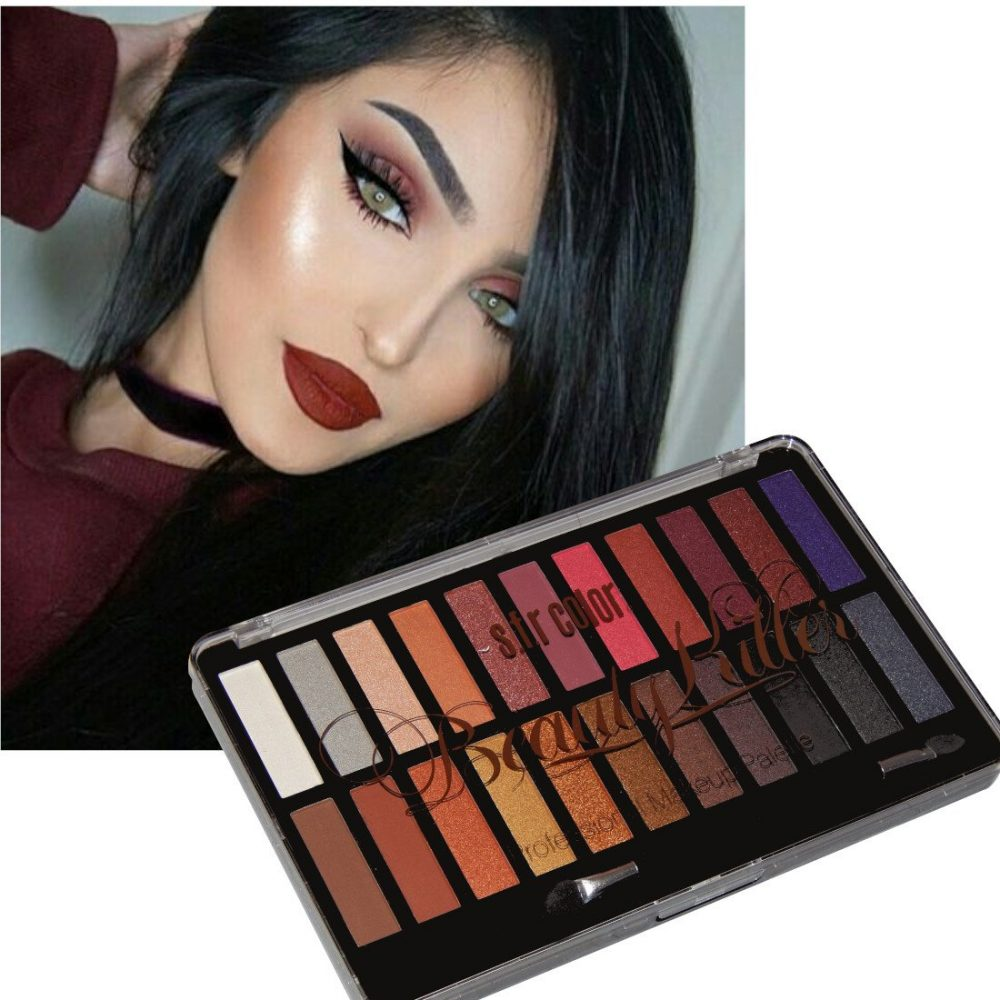 22 COLOR EYESHADOW PALETTE , MATTE EYESHADOW