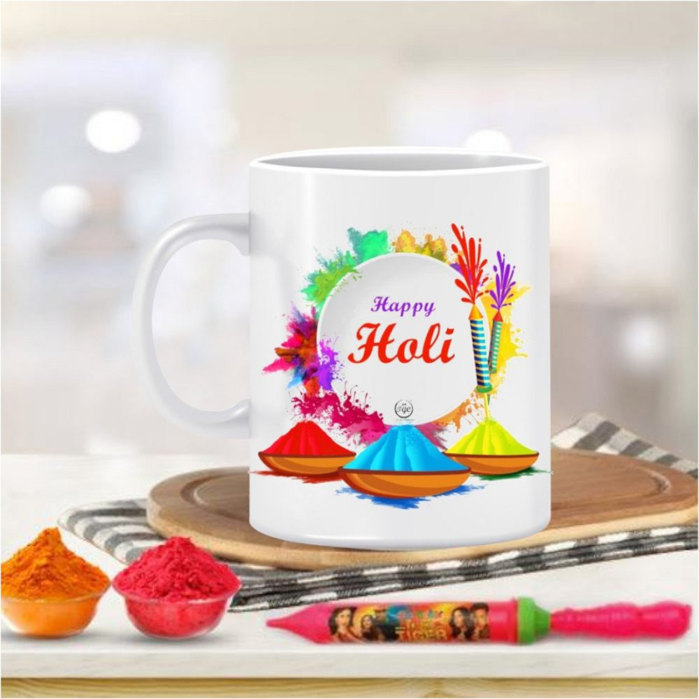 TGC THE GIFT COMPANY Happy Holi Mug