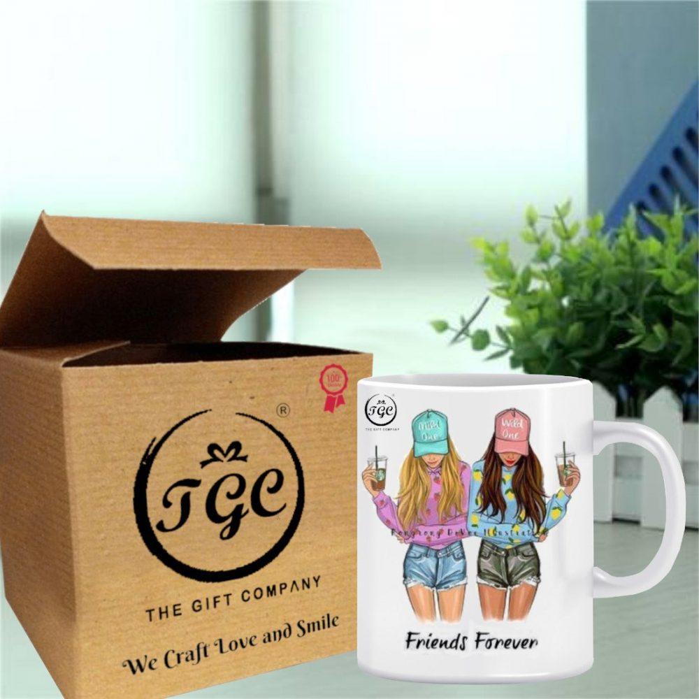TGC THE GIFT COMPANY white mug