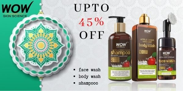 WOW SKIN SCIENCE 45% OFF